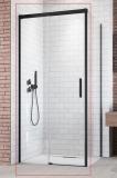 Душевая дверь RADAWAY Idea Black KDJ 1600x2005 стекло прозр., проф. черный 387046-54-01L