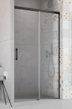 Душевая дверь RADAWAY Idea Black DWJ 1300x2005 стекло прозр., проф. черный 387017-54-01R
