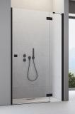 Душевая дверь RADAWAY Essenza New Black DWJ 800x2005 стекло прозр., проф. черный 385012-54-01R