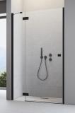 Душевая дверь RADAWAY Essenza New Black DWJ 800x2005 стекло прозр., проф. черный 385012-54-01L