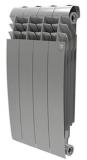 Секционный биметаллический радиатор Royal Thermo Biliner 500 Silver Satin 4 секций