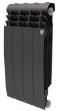 Секционный биметаллический радиатор Royal Thermo Biliner 500 Noir Sable 4 секций