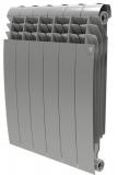 Секционный биметаллический радиатор Royal Thermo Biliner 500 Silver Satin 6 секций