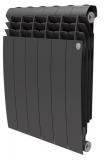 Секционный биметаллический радиатор Royal Thermo Biliner 500 Noir Sable 6 секций