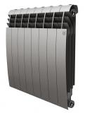Секционный биметаллический радиатор Royal Thermo Biliner 500 Silver Satin 8 секций
