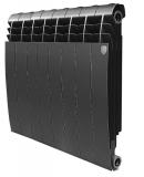 Секционный биметаллический радиатор Royal Thermo Biliner 500 Noir Sable 8 секций