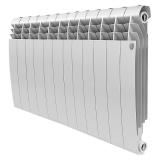 Секционный биметаллический радиатор Royal Thermo Biliner 500 Bianco Traffico 12 секций