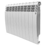 Секционный биметаллический радиатор Royal Thermo Biliner 500 Bianco Traffico 10 секций