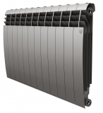 Секционный биметаллический радиатор Royal Thermo Biliner 500 Silver Satin 12 секций