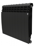 Секционный биметаллический радиатор Royal Thermo Biliner 500 Noir Sable 12 секций