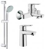 Набор смесителей для ванны GROHE Bau Edge 123265S