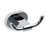 Крючок двойной RAVAK Chrome CR 100.00