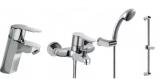 Набор смесителей для ванны/душа TRES (139103+01717002+143835) №2