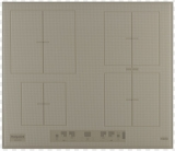 Варочная панель индукционная  KIA 641 B B (DS)