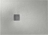 Душевой поддон Roca Terran 1000x900 дымчато-белый + трап + сифон AP013E838401090
