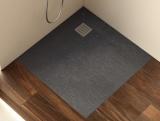 Душевой поддон Roca Terran 900x900 черный + трап + сифон AP0338438401400