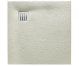 Душевой поддон Roca Terran 900x900 серый цемент + трап + сифон AP0338438401300