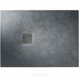 Душевой поддон Roca Terran 1000x900 графит + трап + сифон AP013E838401200