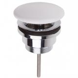 Донный клапан для умывальника Villeroy&Boch 68090001 керамич. белый