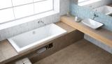 Ванна акриловая Radaway ARIDEA LUX 180x80 + ножки WA1-25-180?080U