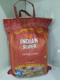 Рис Basmati  басмати параболоид пропаренный премиум 5кг Indian super, Индия