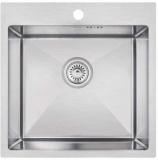 Мойка кухонная IMPERIAL Handmade D5050 500x500 IMPD5050H10