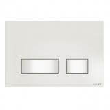 Кнопка для инсталяции CERSANIT MOVI белая, стекло S97-010