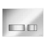 Кнопка для инсталяции CERSANIT MOVI хром матовый, стекло S97-011