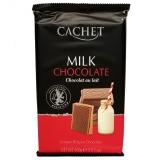 Шоколад Cachet Milk Chocolate молочный, 300грм Бельгия 32%