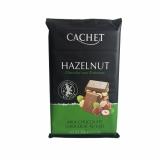 Шоколад Cachet Milk Chocolate Hazelnut - молочный с фундуком, 300гр. Бельгия 33% Премиум шоколад