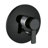 Смеситель для ванны и душа внешняя часть KLUDI ZENTA BLACK & WHITE 386508675