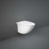 Унитаз подвесной RAK Ceramics SENSATION SENWC1446AWHA сиденье soft