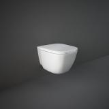 Унитаз подвесной RAK Ceramics ONE EL13AWHA сиденье soft slim