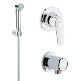 Гигиенический душ в комплекте GROHE Bau Flow 121645