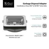 Адаптер для измельчителя отходов KRAUS GDA-1