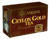 Чай MLesnA  черный цейлонский  Ceylon Gold  Цейлон Голд в пакетиках 100шт  (02-014)
