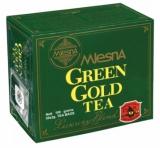 Чай MLesnA зелёный цейлонский Green Gold Грин Голд в пакетиках 100шт  (02-032)